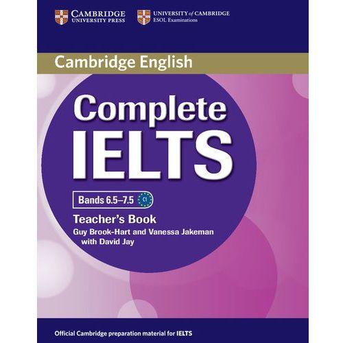 Książki do nauki języka, Complete IELTS Bands 6.5-7.5. Książka Nauczyciela (opr. miękka)