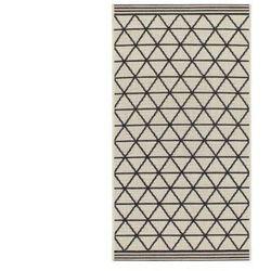 Dywanik pod łóżko DRINA — polipropylen — 60 × 110 cm — beżowy