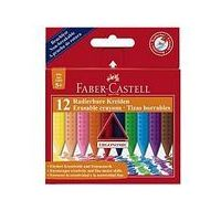 Kredki, Kredki Grip trójkótne 12 kol. opakowanie kartonowe Faber-Castell