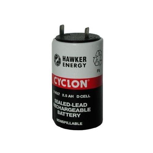 Akumulatorki, CYCLON CELL D 2,0V 2,5Ah Pb 34,4x61,2mm