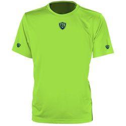 TTK CREW IRIDIUM LIME - koszulka tenisowa R. XS