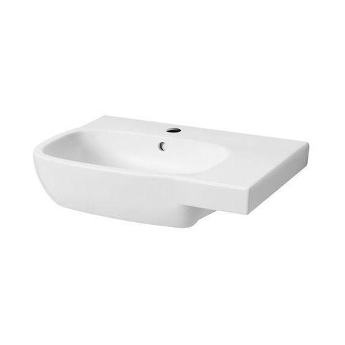 Umywalki, Umywalka Koło Style asymetryczna 65x46 cm, prawa L21765000