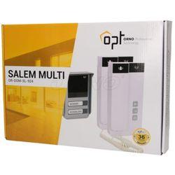Zestaw domofonowy dwurodzinny, 2-żyłowy, natynkowy SALEM MULTI ORNO
