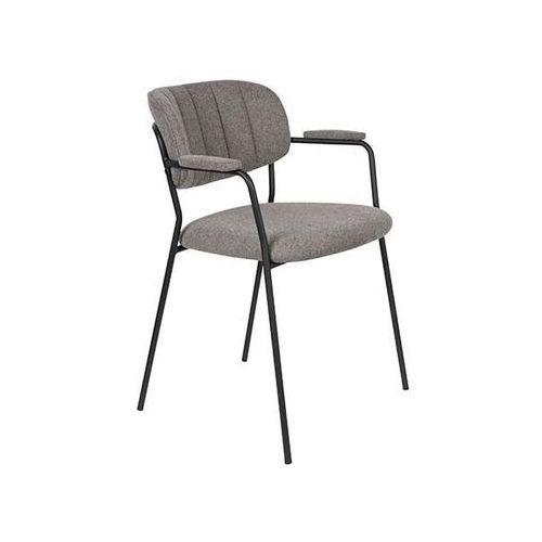 Fotele i krzesła biurowe, Orange Line Fotel JOLIEN czarny/szary 1200219