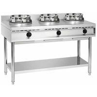 Piece i płyty grzejne gastronomiczne, Bartscher Kuchnia wok gazowa 3 palnikowa   34500W - kod Product ID