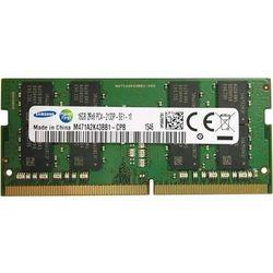 Pamięć RAM 1x 16GB SAMSUNG SODIMM DDR4 2133MHz PC4-17000S | M471A2K43BB1-CPB