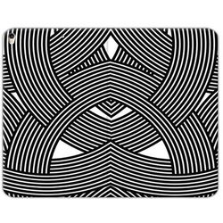 Apple iPad Air (2019) - etui na tablet Flex Book Fantastic - biało-czarna mozaika