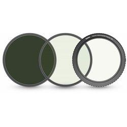 Filtr szary regulowany wymienny magnetyczny Haida 77mm Variable NanoPro