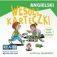 Książki do nauki języka, Angielski. Wesołe karteczki szkoła kształty działania (opr. miękka)