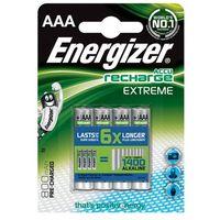 Akumulatorki, Akumulatorki ENERGIZER Extreme AAA 800mAh 4szt.