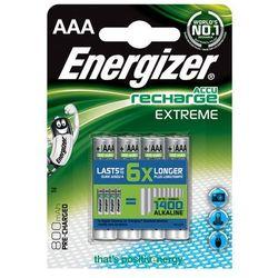 Akumulatorki ENERGIZER Extreme AAA 800mAh 4szt.