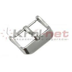 Sprzączka / klamerka stalowa - 16, 18, 20, 22 mm, polerowana