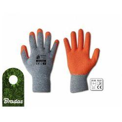 Rękawice ochronne HUZAR CLASSIC PLUS lateks rozmiar 9 BRADAS 6319