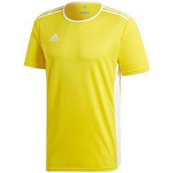 Koszulka dla dzieci adidas Entrada 18 Jersey JUNIOR żółta CD8390/CF1039