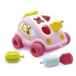 Cotoons Samochód sorter różowy