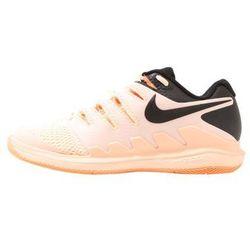Nike Performance AIR ZOOM VAPOR Obuwie multicourt crimson tint/black/orange pulse