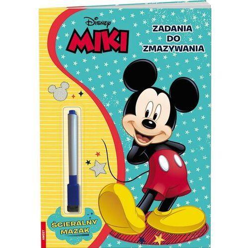 Książki dla dzieci, Miki. Zadania do zmazywania (opr. broszurowa)