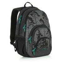 Tornistry i plecaki szkolne, Plecak młodzieżowy Topgal HIT 896 C - Grey