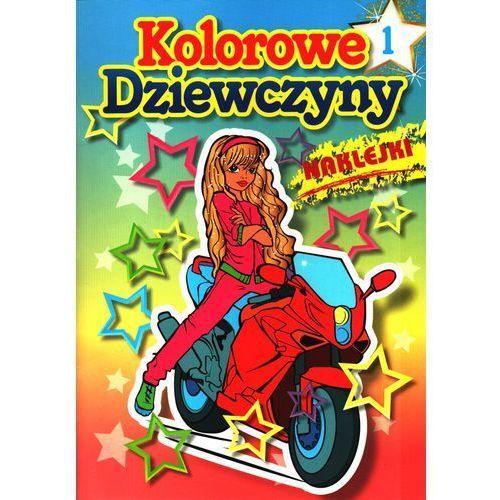 Książki dla dzieci, Kolorowe dziewczyny 1 (opr. miękka)