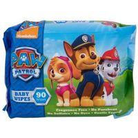 Chusteczki dla niemowląt, Nickelodeon Paw Patrol Baby Wipes Chusteczki oczyszczające 90szt