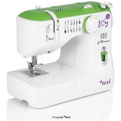 Maszyna do szycia TEXI Joy 13 Green - idealna na początek + igły + stopki
