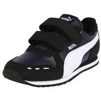 Buty sportowe dla dzieci, PUMA Trampki 'Cabana Racer SL V G' czarny / biały
