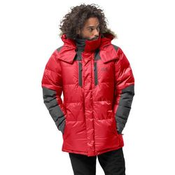 Męska parka puchowa THE COOK PARKA red lacquer - S