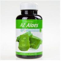 Detox i oczyszanie organizmu, A-Z Aloes extract standaryzowany 75mg 60 kaps.