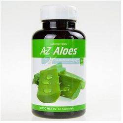 A-Z Aloes extract standaryzowany 75mg 60 kaps.