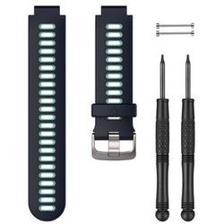 Garmin Forerunner 735XT Spare Bracelet, midnight blue 2019 Akcesoria do zegarków Przy złożeniu zamówienia do godziny 16 ( od Pon. do Pt., wszystkie metody płatności z wyjątkiem przelewu bankowego), wysyłka odbędzie się tego samego dnia.