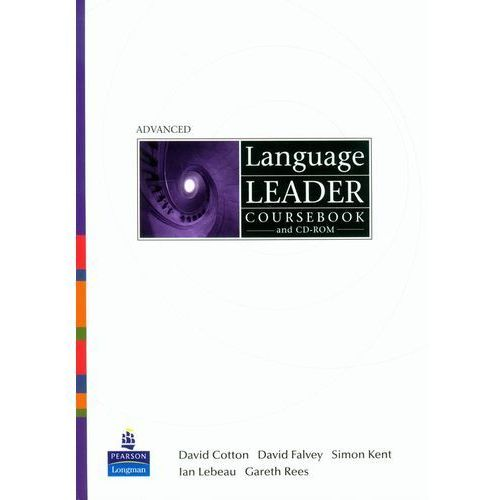 Książki do nauki języka, Language Leader Advanced, Coursebook plus CD-ROM plus MyLanguageLeaderLab Access CodeLanguage Leader Advanced, Coursebook plus CD-ROM plus MyLanguageLeaderLab Access Code (opr. miękka)