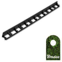 Obrzeże ogrodowe 45/1000mm TYP2 RIM-BORD-45 1m BLACK Bradas 0551