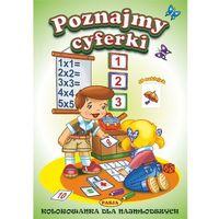Książki dla dzieci, Kolorowanki dla najmłodszych. Poznajemy cyferki (opr. miękka)