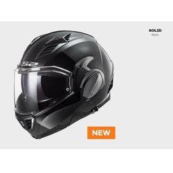 KASK MOTOCYKLOWY LS2 FF900 VALIANT II SOLID BLACK nowość 2020 roku
