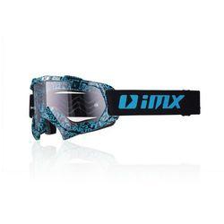GOGLE IMX MUD (SZYBA CLEAR) Graphic Blue/Black