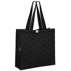 Healthy Plan by Ann - Pikowana torba na zakupy czarna