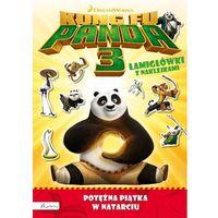 Książki dla dzieci, Kung Fu Panda 3. Potężna Piątka w natarciu. Łamigłówki z naklejkami (opr. miękka)