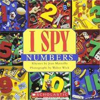 Książki dla dzieci, I spy little numbers (opr. twarda)