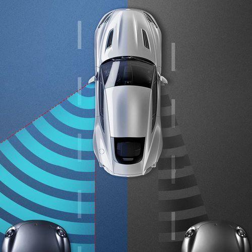 Pozostałe akcesoria do samochodu, Baseus Blind-spot Mirror dodatkowe samochodowe lusterko boczne martwe pole punkt czarny (ACFZJ-01)
