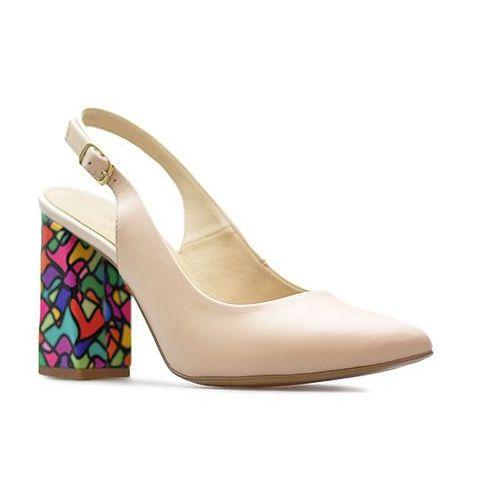 Sandały damskie, Sandały Luca Cavialli 5821/383 Beżowe lico