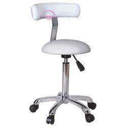 Krzesło kosmetyczne na półkach BP-TK10