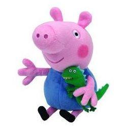 Beanie Babies Lic PEPPA PIG - George reg. Darmowy odbiór w niemal 100 księgarniach!