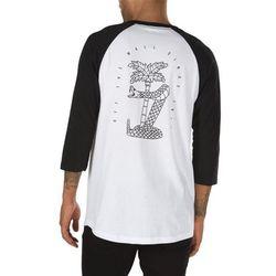 koszulka VANS - Palm Desert Ragla White/Black (YB2) rozmiar: XL