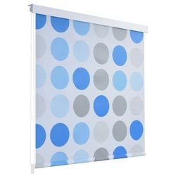 Roleta prysznicowa 100 x 240 cm, wzór w koła