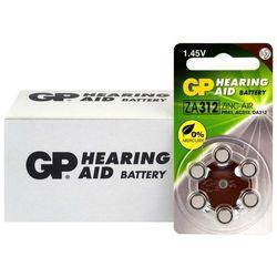 60 x baterie do aparatów słuchowych GP 312 / ZA312 / PR41