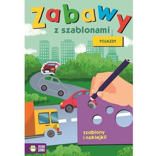 Książki dla dzieci, Zabawy z szablonami Pojazdy - Praca zbiorowa (opr. miękka)