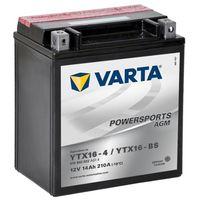 Akumulatory do motocykli, Varta Akumulator AGM 12 V 14 Ah YTX16-4 / YTX16-BS Darmowa wysyłka i zwroty
