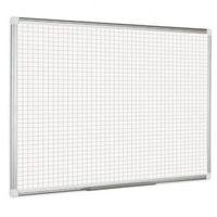 Tablice szkolne, Kratkowana tablica do pisania, kwadraty/raster, 90x60 cm