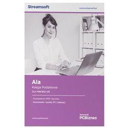 Streamsoft PCBIZNES ALA Księga podatkowa dla firm bez VAT