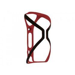 Koszyk na bidon BLACKBURN CINCH karbonowy 16g czarno-czerwony matowy